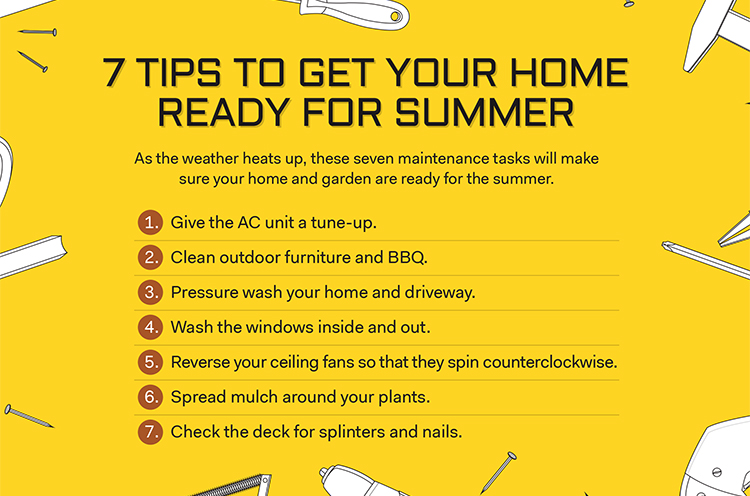 7 Tips to get Your Home Ready for Summer