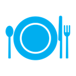 Hunger - Plate with Fork and Knife Icon