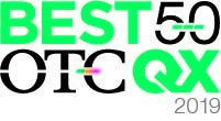 Best 50, a ranking of top performing companies traded on the OTCQX Best Market last year