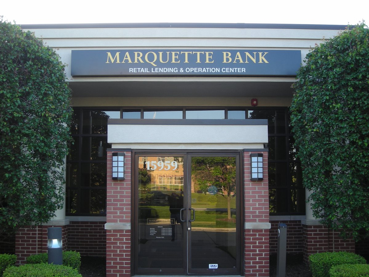 Orland Park Home Financing Center Marquette Bank Marquette Bank
